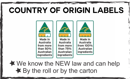 food labelling country of origin