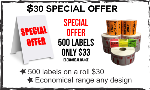 specials on label printing central coast